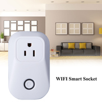 US Plug Wifi Smart Outlet Socket Wireless Automation Remote Control Switch Home Timer Smart Power Socket