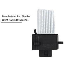 Final Stage E39 E46 Heater Blower Motor Resistor for BMW E46 E39 X5 X3-OE 64116923204 64116929486 64118385549 64118364173 цена