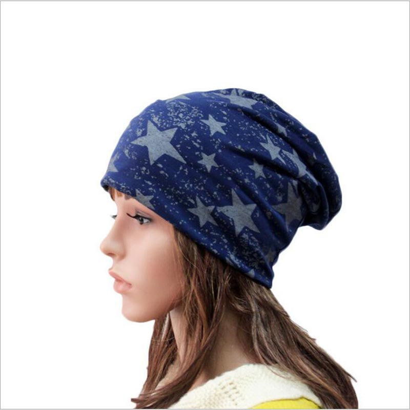 2017 New Cotton hat for women men skullies Hat autumn winter knit Hedging cap Brand star casual girl Beanies Accessories skullies 2017 new arrival hedging hat female autumn and winter days wool cap influx of men and women scarf scarf hat 1866729