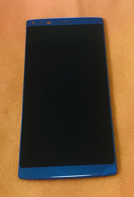 Kullanılan orijinal lcd ekran + dokunmatik ekran DOOGEE Mix 2 için Helio P25 Octa çekirdek 5.99 FHD ücretsiz kargo