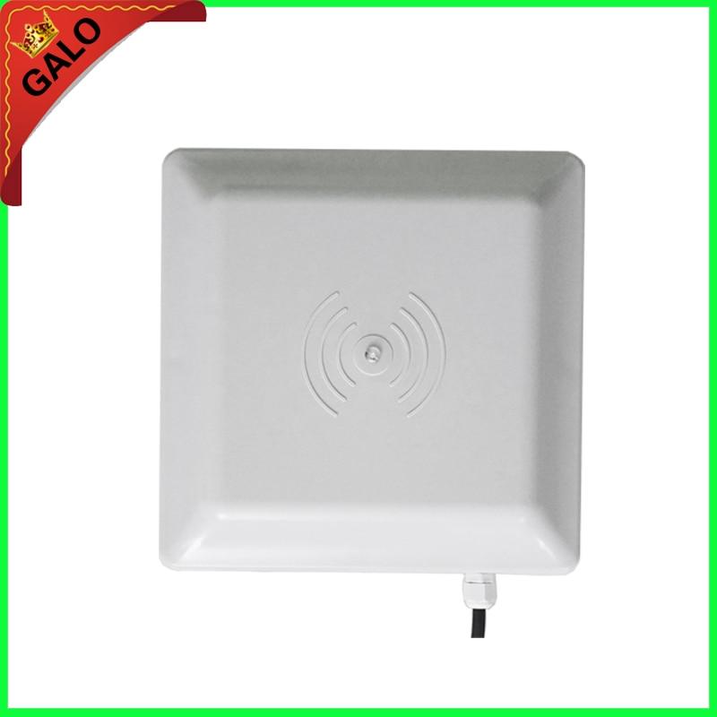 UHF RFID card reader 6m long range, 8dbi Antenna RS232/RS485/Wiegand Read 6M Integrative UHF Reader for parking system цены онлайн