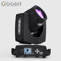 Ekran dotykowy oświetlenie punktowe 7r 230w reflektor z ruchomą głowicą sprzęt dj w Oświetlenie sceniczne od Lampy i oświetlenie na