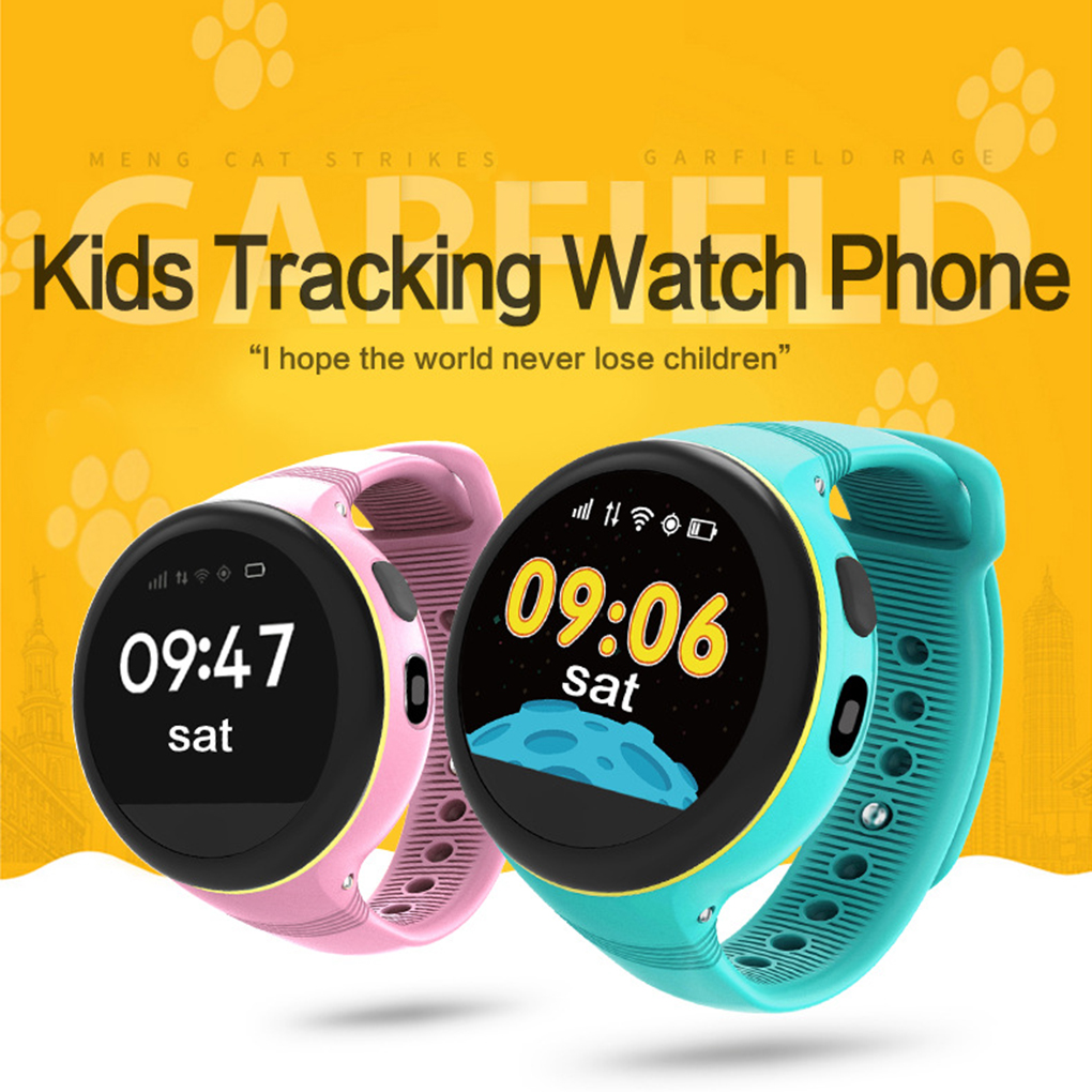 S668 Children IPS Round Screen Smart Watches GPS/LBS/AGPS Multi Positioning SOS Call IP54 Waterproof Smart Watch children gps smart watch q750 baby watch with wifi 1 54inch touch screen sos call location device kids watch phone montre f15