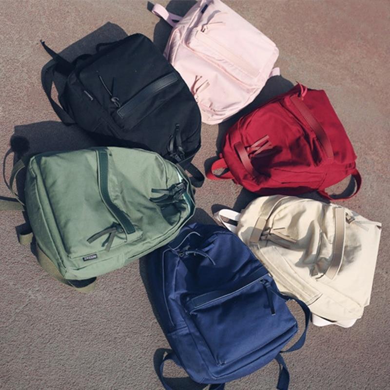 Women Canvas Backpack School Bag 1016B Rucksack Travel Daypack for Student Teenager