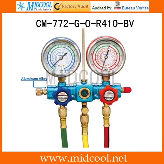 Sight Glass Brass Testing Manifolds CM-772-G-O-R410-BVSight Glass Brass Testing Manifolds CM-772-G-O-R410-BV