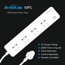 Poder de Controle Original Tira Remoto Broadlink Plug And Play Wi-fi Disponível 4-outlet Tomada de Casa Inteligente Sistema Automação