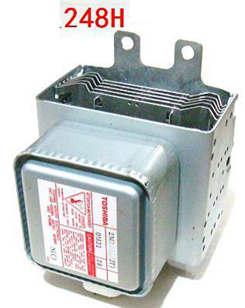 Microwave Oven Magnetron Toshiba 2M248H Replacement for Toshiba Refurbished Microwave Oven Parts