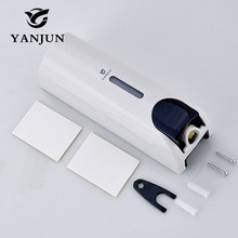 Yanjun 350ml Single  Liquid Soap Dispenser  Wall Mount Lavatory Bath Shower Accessories White  YJ-2532