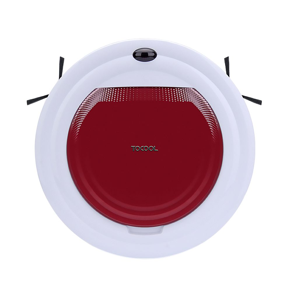 TOCOOL-350 WirelESS Remote Control Smart Robot Vacuum Cleaner Ultrathin Fuselage Automatic Sweeper Dry and Wet Mopping EU Plug jisiwei 2017 s smart robotic vacuum cleaner for home mobile app remote control tpu avoidance sensor hd camera robot mopping tool