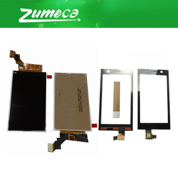 High Quality For <font><b>Sony</b></font> Xperia U <font><b>ST25</b></font> ST25a ST25i LCD Display Screen+Touch Screen Digitizer Replacement Part With Free Tape image
