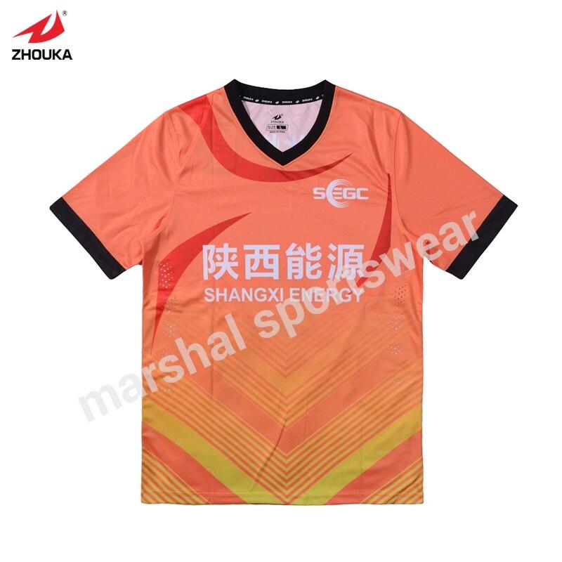 Vente en gros équipe de football t-shirt boutique t-shirt conception OEM nouveau Style Grade Original Sublimation personnalisé football Unifor