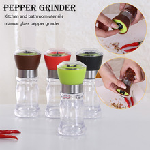 Cookware Seasoning Muller Handy Manual Salt Pepper Mill Grinder Spice Gadget Shaker Kitchen Tools