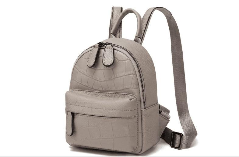 ขนาดเล็กขนาดผู้หญิงกระเป๋าเป้สะพายหลังคุณภาพสูง-ใน กระเป๋าเป้ จาก สัมภาระและกระเป๋า บน   2