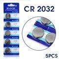 Cheap + Frete grátis Para assista Botão bateria de Relógio CR2032 DL2032 ECR2032 5004LC Botão Coin Bateria de Células De Lítio Placa Principal