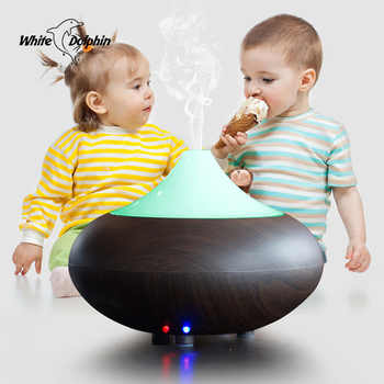 Ultrasonic Aromatherapy Aroma Diffuser Air Humidifier For Home Electric Led Essential Oil Diffuser Cool Mist Humidifier