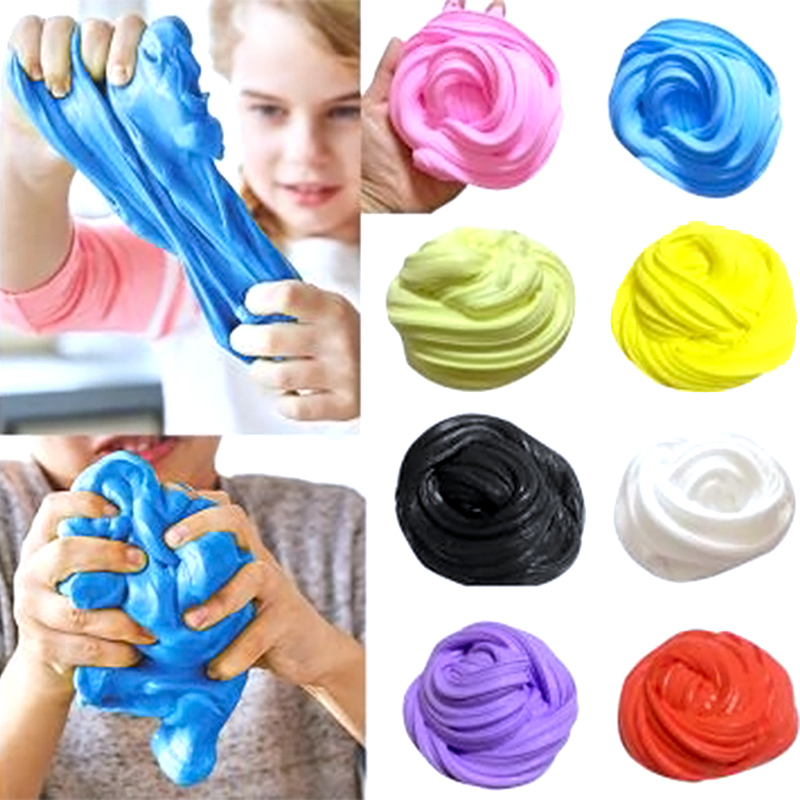 Intelligent Plasticine DIY Color Rubber Decompression Vent Artifact Play Dough Tool Playdough Plastilina Magnetica Floam Mud