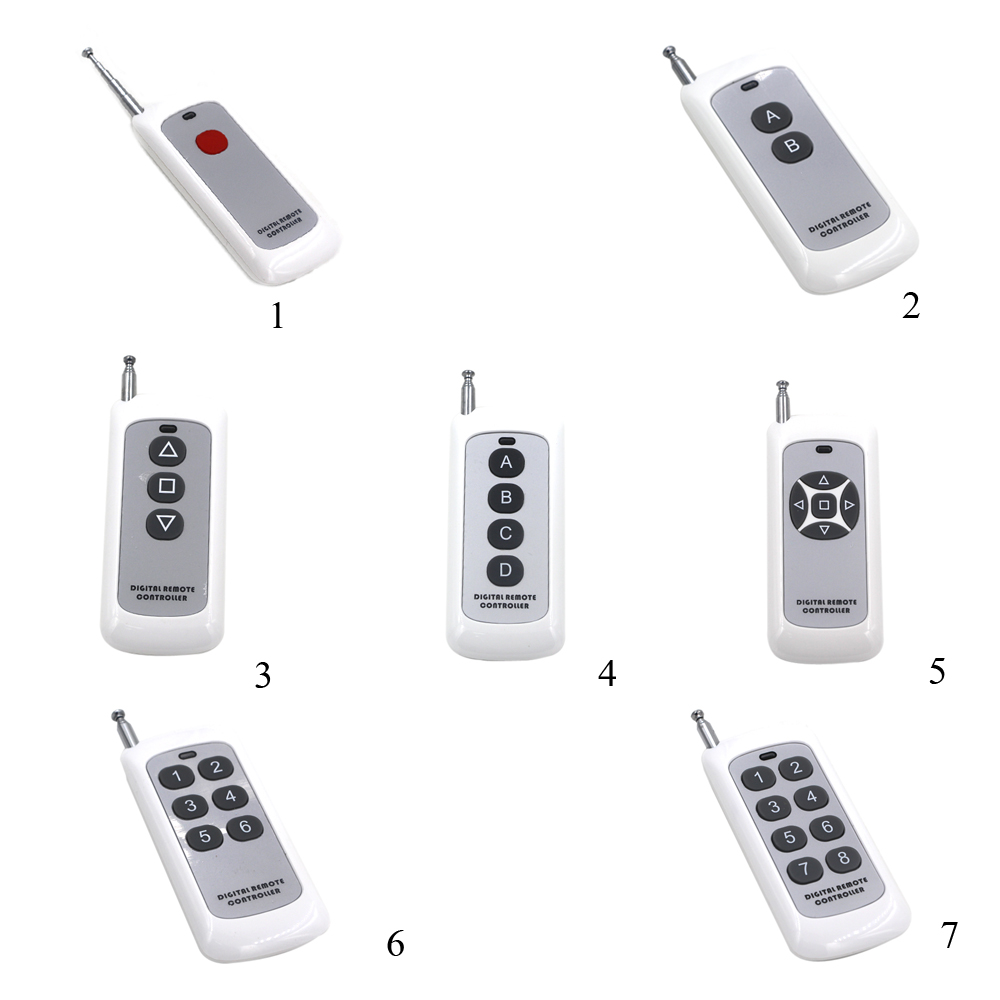 1CH 2CH 3CH 4CH 5CH 6CH 8CH Transmitter Wireless Remote Fixed Code Soldering PT2262 2260 Remote Control Switch 500m long range 1ch 2ch 3ch 4ch 6ch 8ch 1 2 3 4 6 8 ch channel rf wireless remote control transmitter with holder 315 433 92
