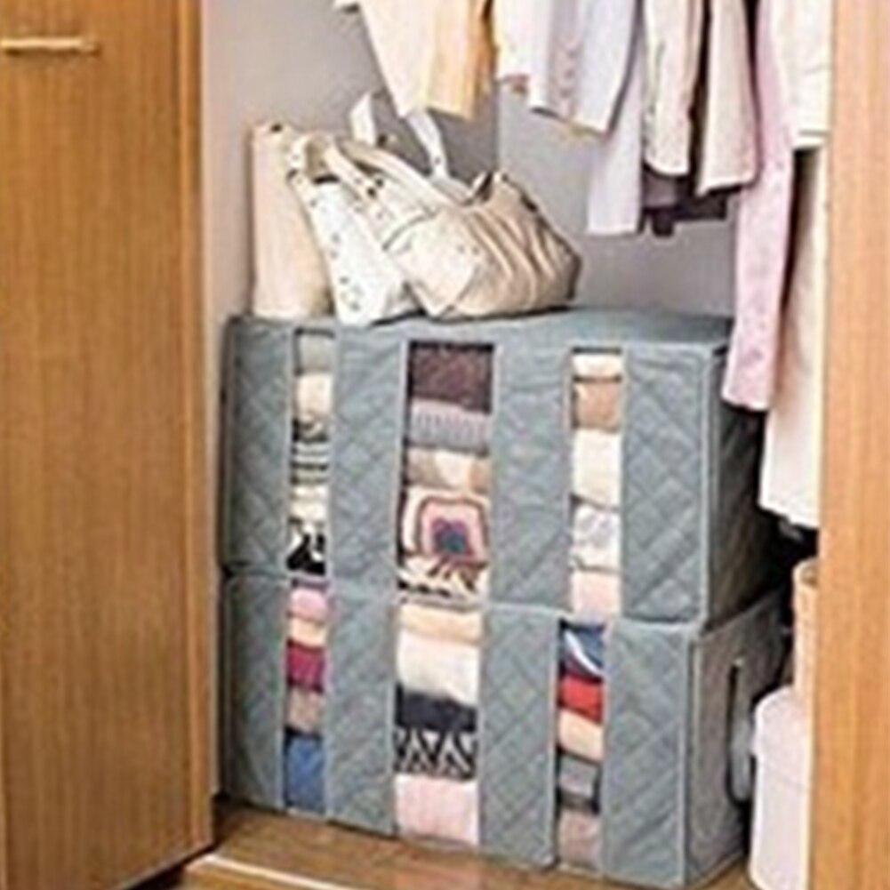 Large Capacity Foldable Storage Bag Clothes Blanket Closet Sweater Jpg  1001x1001 Sweater Organizer For Closet