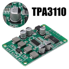 TPA3110 Speaker AMP Boards Dual-channel 2x15W Bluetooth Audio Power Amplifier Board For Bluetooth Speaker x5 unique tobacco pipe style bluetooth v2 1 2 channel speaker w stand for iphone white