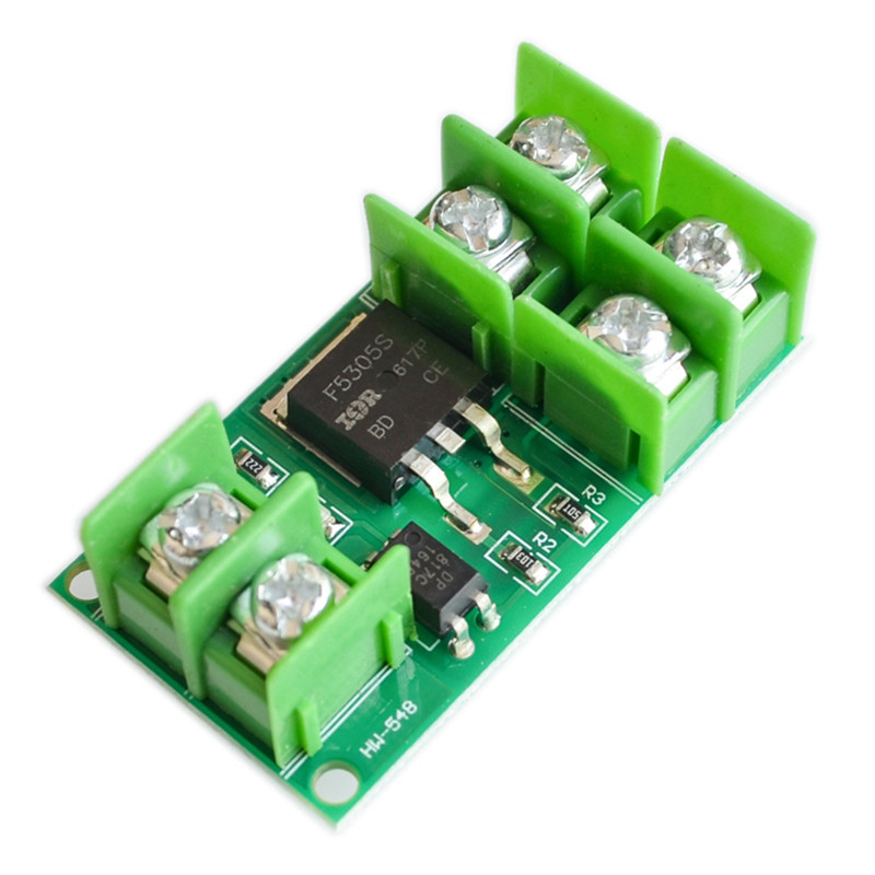 5pcs Electronic Switch Control Board Pulse Triggered Switch Module DC Control MOS Field Effect Guan Guangou