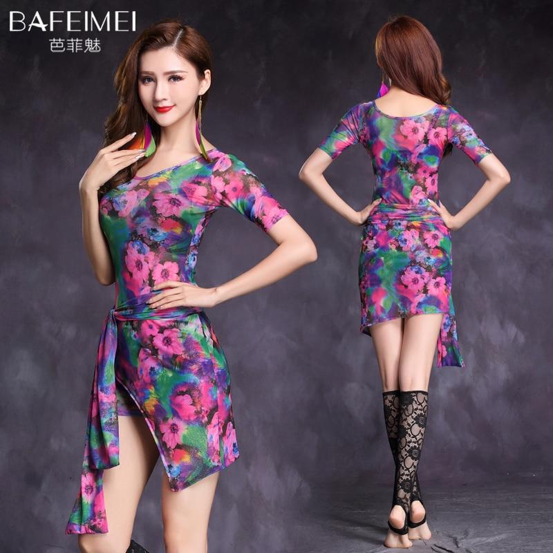 Good Quality Belly Dance Costume Set Bellydance Dress For Woman  2colors Dance Dress  M, L