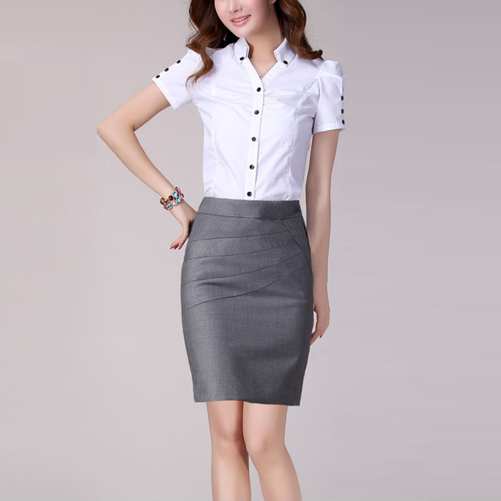 Online Get Cheap Summer Women Career Short Formal Skirts ...