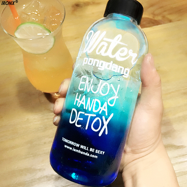 IRONX 500 ml 1000 ml Outdoor Kunststoff Wasserflaschen Große ...