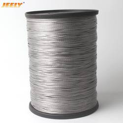 JEELY Высокое качество 1,4 мм 50 м 12strands 450lbs Spectra буксировочный трос лебедки шнур
