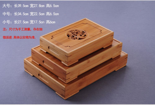 China Dragon & Phoenix Bamboo Gong Fu Tea Ceremony Table 3