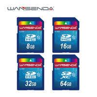Vendita calda Wansenda Full size scheda SD 64GB 32GB 16GB SDHC SD Card Scheda di Memoria flash 8GB 4GB universale per la macchina fotografica digitale