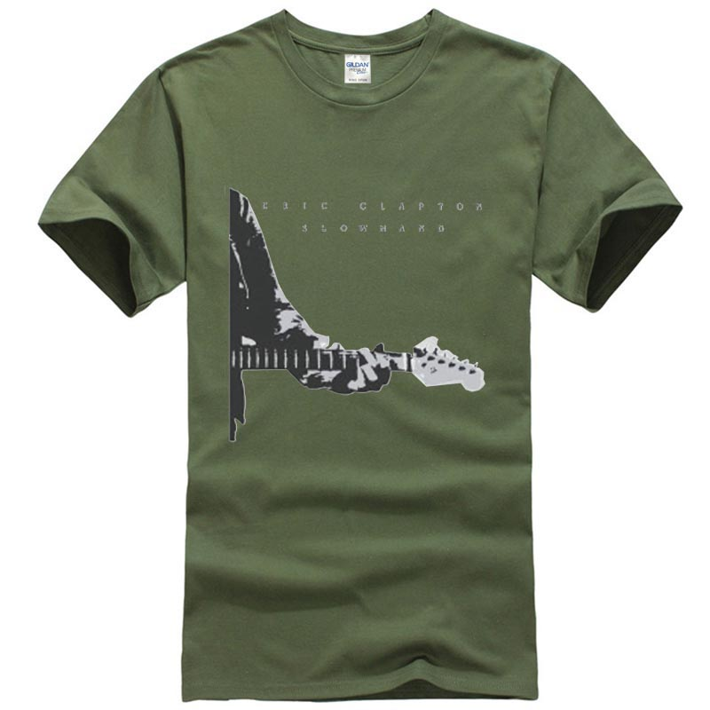 Men/'s Eric Clapton Slowland Tee Shirt Size:XL// New