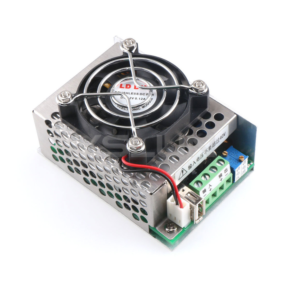 Dc 8v 40v To 1 25v 36v 10a 200w Buck Converter Adjustable