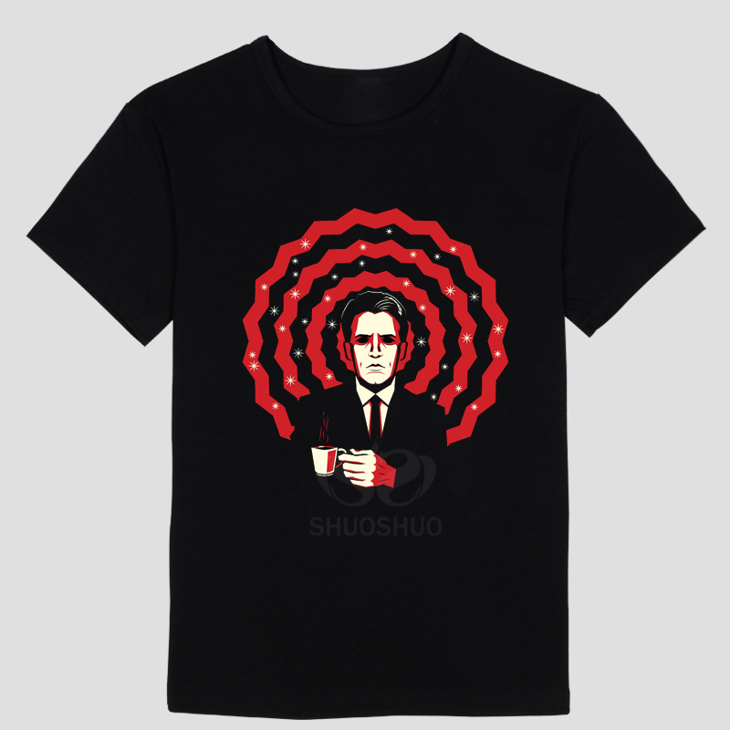 twin peaks red room Mens and womens short sleeve T-shirt