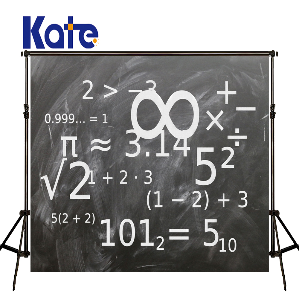 KATE Photography Backdrop Blackboard Wedding Back to School Children Photography Backdrops for Fond Studio Photo
