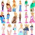 Много 5 комплект наряд ручной работы кукла платья одежда костюм пальто брюки аксессуары для Kurhn Barbie кукла девочки подарок