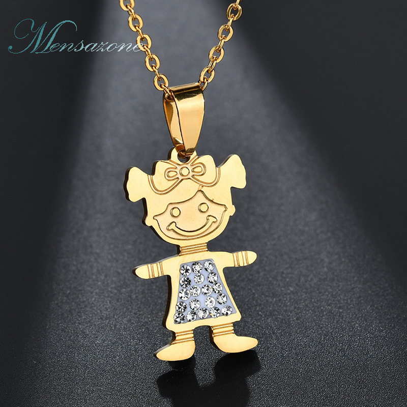 twins mobile item stainless pendant girl factory fashion silver online wholesale jewelry tone price baby aliexpress steel necklace shop