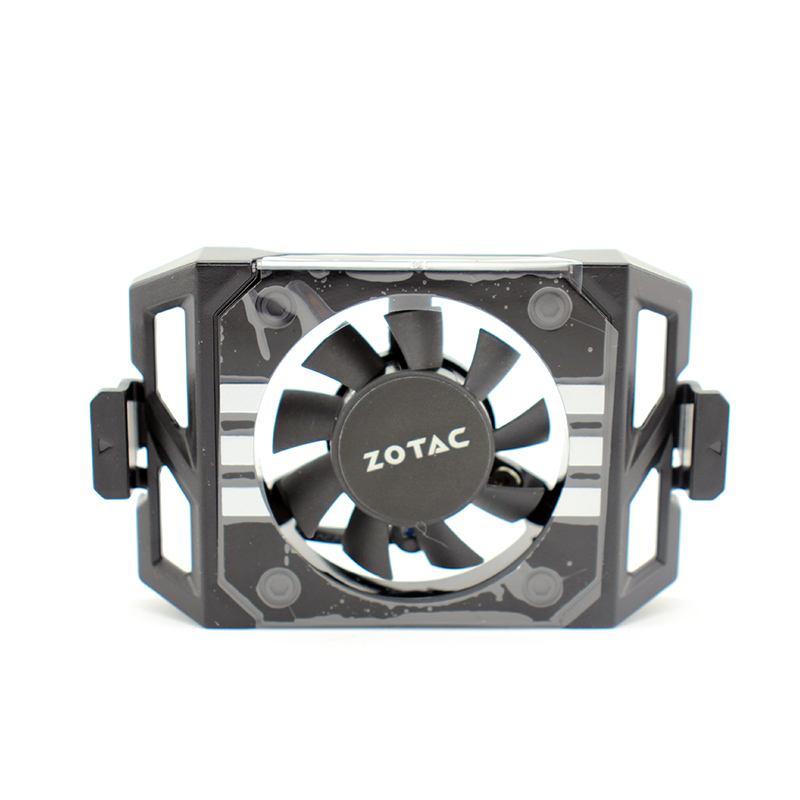 Image 3 - New Original GA41S2L DC12V for ZOTAC GTX1060 1070TI 1080 TI PLUS OC Graphics card cooling fan Video card backplane fan-in Laptop Cooling Pads from Computer & Office