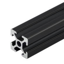 1 шт. черный Европейский стандарт анодированный алюминиевый профиль Экструзия 100 мм-800 мм Длина линейной рельсы 500 мм для ЧПУ 3d принтер