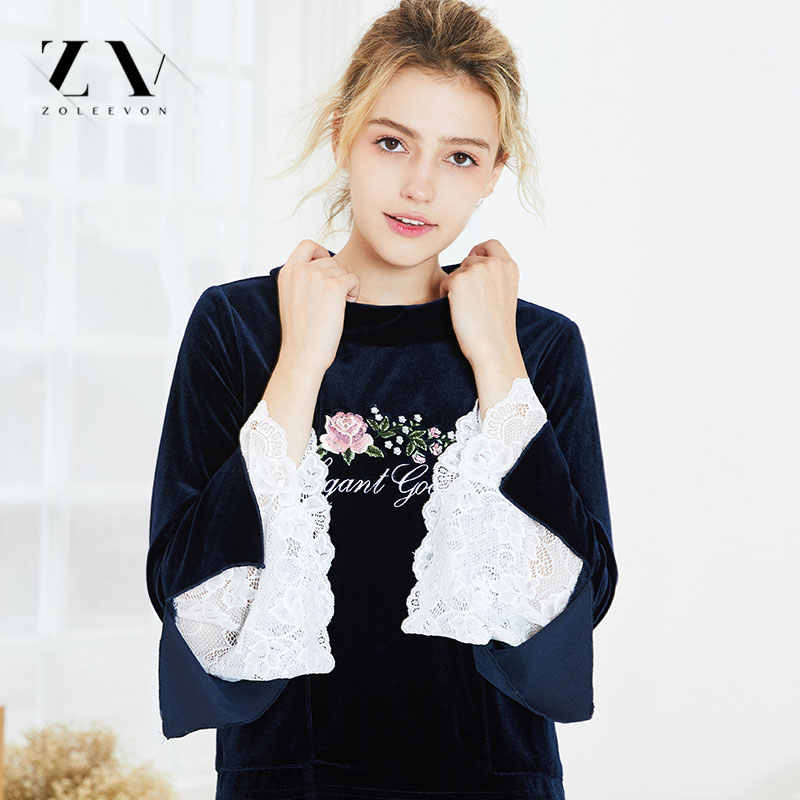 Hoa Pajama lập Mùa Thu Mùa Đông Phụ Nữ Đêm Mặc San Hô Nhung Ấm Áp Phù Hợp Với Ren Dài Tay Áo Ngủ Nữ Cô Gái Nhà Mặc