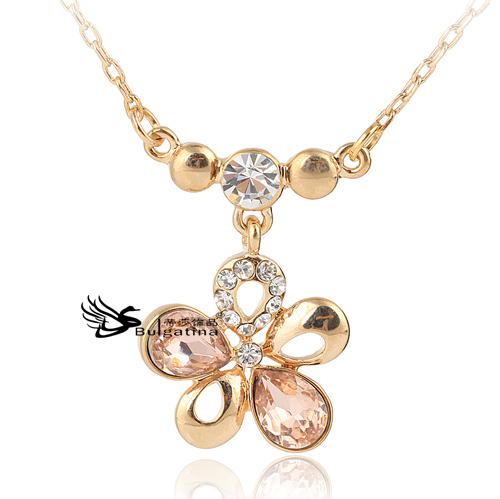 Gold jewelry 2017 fashion stylish necklace for women Trendy womens gifts 2015