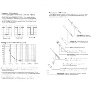 "Image 5 - Osciloscópio digital, dso FNIRSI 138 ""tft kit de osciloscópio digital de bolso kit diy peças portátil + p6100 sonda osciloscópio"
