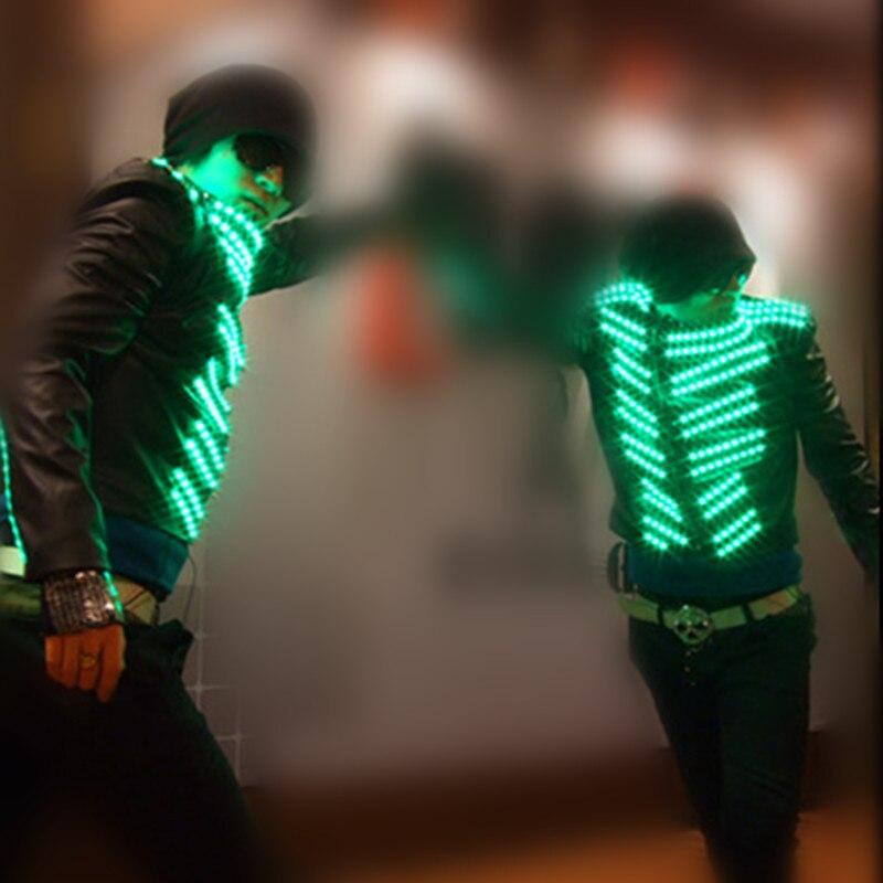 Hot Sale Led Luminous Robot Suit Can Change 7 Colors