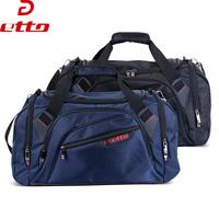 Etto New Professional Single Shoulder Gym Bag Big Capacity Portable Ball Sports Fitness Bag With Independent