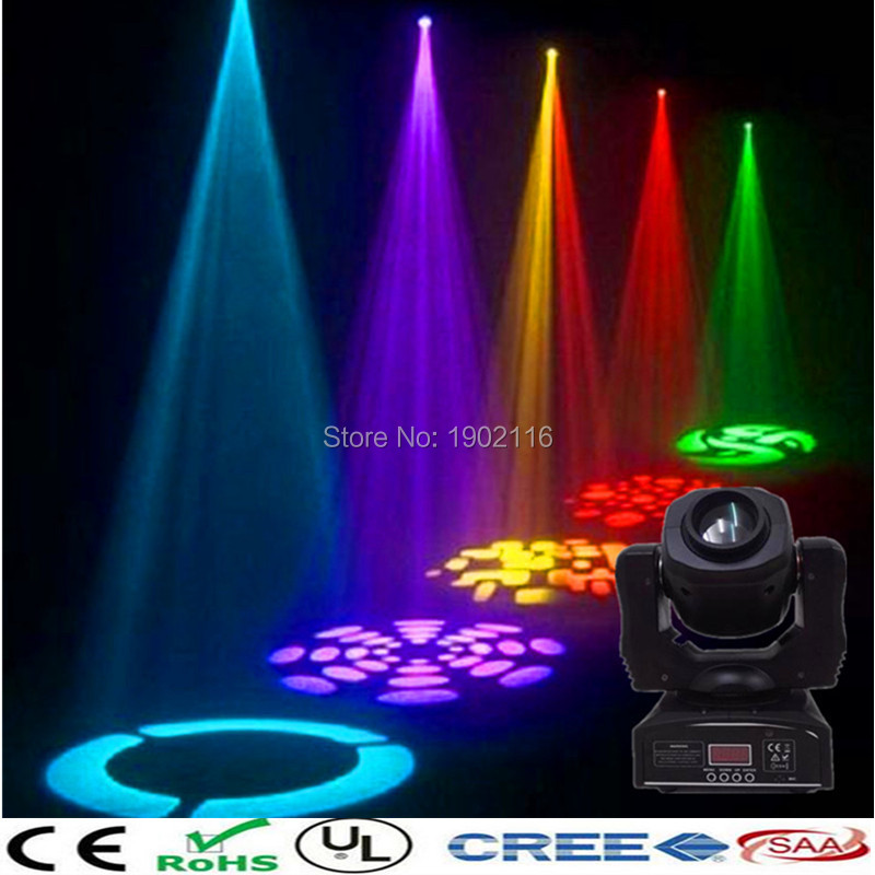 Niugul 60W Led Moving Head light/Spot Effect stage Light/ 60W DJ Disco Lighting /RGBW 4in1 60w led gobo lamp/KTV club lights/LED  moving head spider lights cree led 8x10w rgbw moving head show light disco ktv dj club show bar led stage lighting