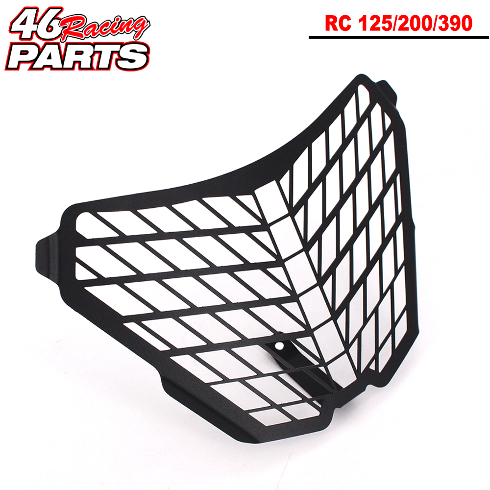 CK CATTLE KING Motorcycle Headlight Guard For KTM RC 125/200/390 RC125 RC200 RC390 2014 2015 2016CK CATTLE KING Motorcycle Headlight Guard For KTM RC 125/200/390 RC125 RC200 RC390 2014 2015 2016