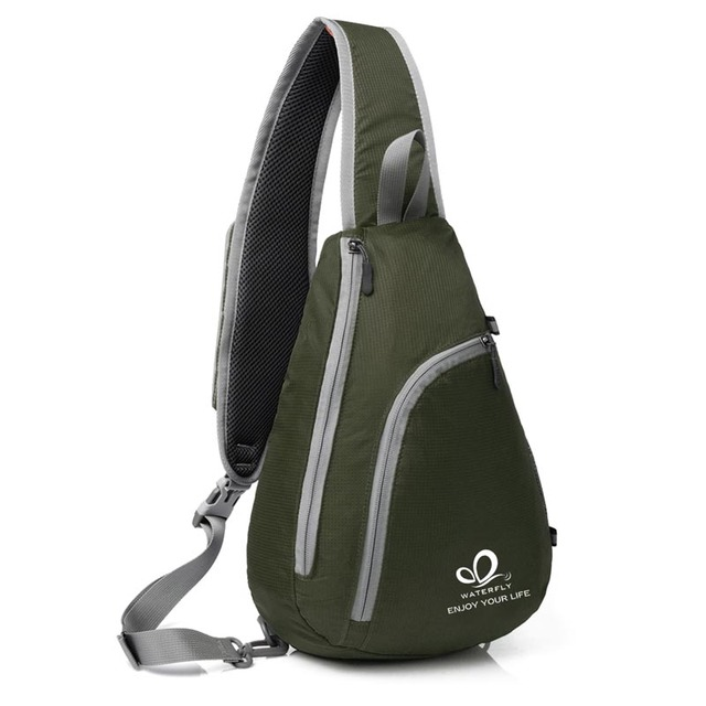 Hot Sale Outdoor Sport Nylon Messenger Bags Sling Single Shoulder Chest Bag  Pack camping hiking Backpack cc07adccd1