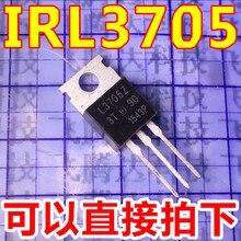 10 개/몫 IRL3705NPBF IRL3705N IRL3705 TO 220 재고