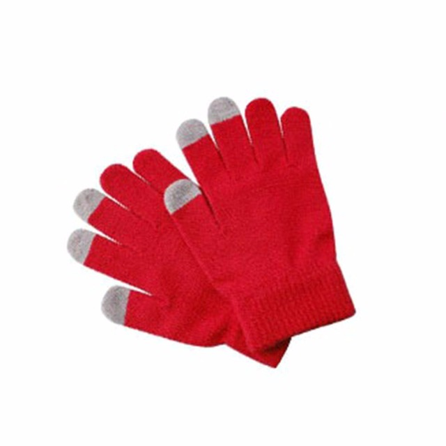 Unisex Winter Warm Cap Active Knitted Gloves for Touch Screen Smart Phone