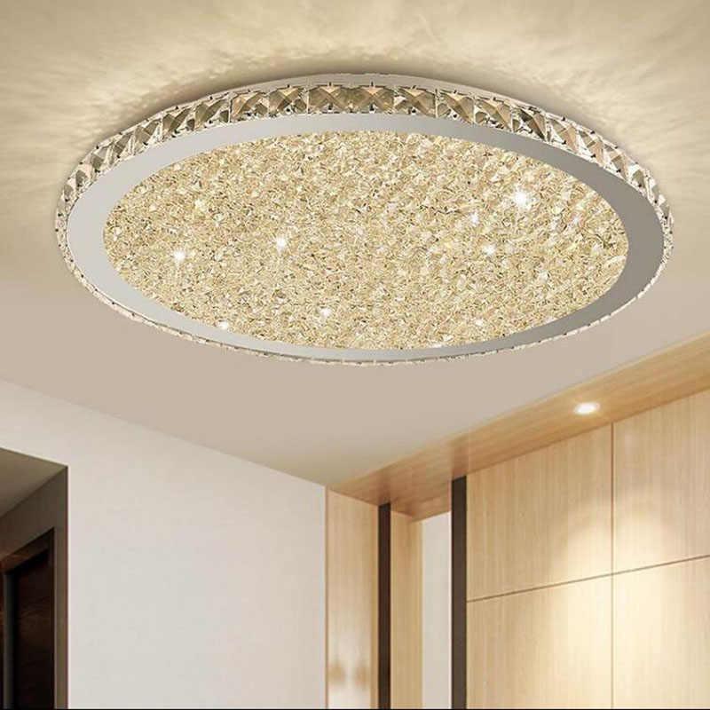 Lampu Gantung Modern Pencahayaan Home Lighting LED Lampu Ruang Tamu Kamar Tidur Langit-langit Lampu Bulat Lampu Gantung LED Perlengkapan