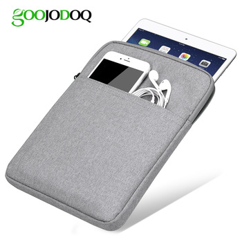 Tablet Case Sleeve For iPad 2018 2017 9.7 Bag Cover, GOOJODOQ Shockproof Protective Tablet Pouch for iPad Pro 11 Case 2018